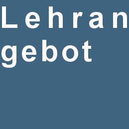 Lehrangebot