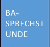 BA-Sprechstunde